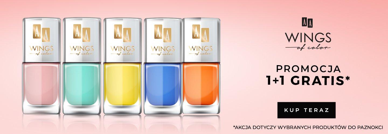 Akcja Paznokcie AA Wings of Color 1+1 na wybrane produkty