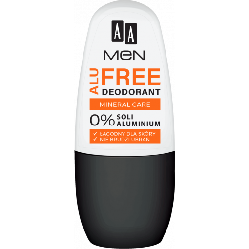 AA MEN ALU FREE deodorant mineral care, 50 ml