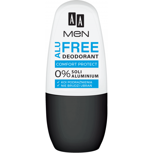 AA MEN ALU FREE deodorant comfort protect, 50 ml