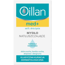 Oillan Med+ mydło natłuszczające 100 g