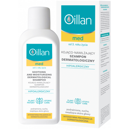 Oillan Med+ kojąco nawilżający szampon dermatologiczny 150 ml
