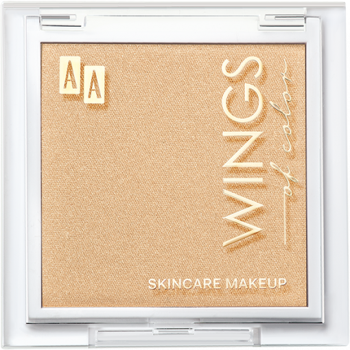 AA WINGS OF COLOR Precious Highlighter Rozświetlacz Do Modelowania 101 White Gold 8,5g