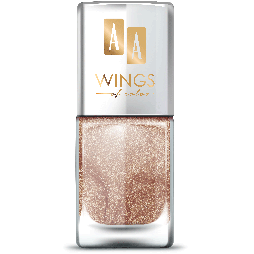 AA WINGS OF COLOR Nail Lacquer Lakier do paznokci 21 Sparkly Cinnamon 11ml