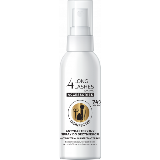 LONG4LASHES Antybakteryjny spray do dezynfekcji, 50 ml