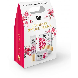 Zestaw kosmetyków AA Japan Rituals 60+ - aktywny bio-krem na dzień + aktywny bio-krem pod oczy 15 ml