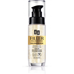 AA FILLER PRO3 AGE SYSTEM Golden Elixir Serum Do Mieszania Z Podkładem 24k Złoto 30 ml