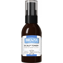 BIOVAX Prebiotic Tonik do skóry głowy 100 ml