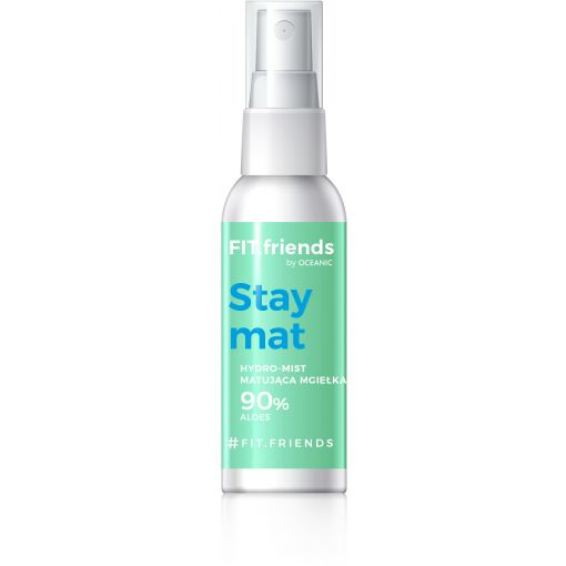 FIT.Friends Hydro –Mist Mgiełka Matująca 90% Aloe Vera 50 ml