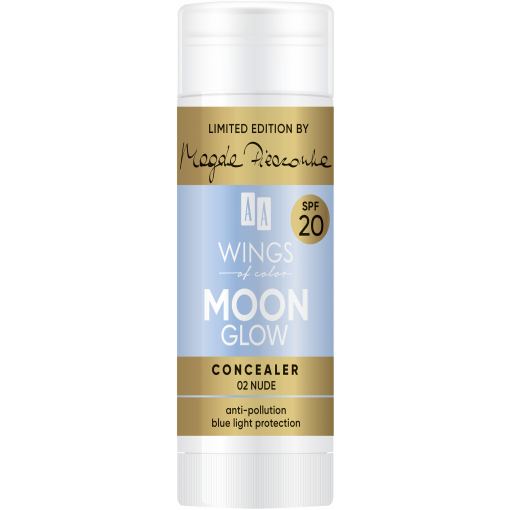 AA WINGS OF COLOR Moon Glow Concealer SPF 20 by Magda Pieczonka 02 Nude 20 g