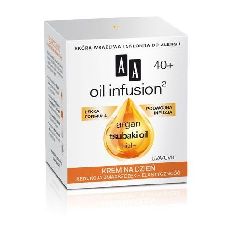 AA Oil Infusion2 40+ krem na dzień redukcja zmarszczek + elastyczność 50 ml