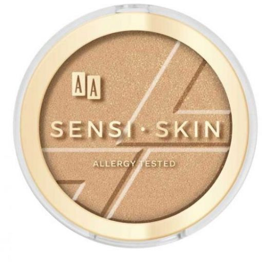 AA Sensi Skin Modelujący bronzer do twarzy 02 macchiato 9 g