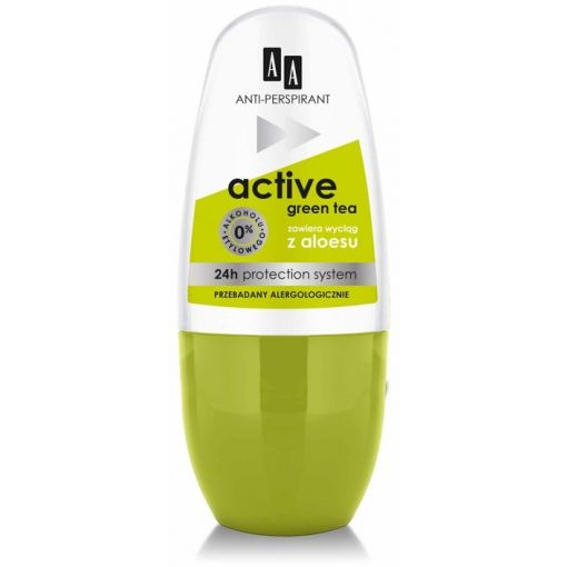 AA Deo Active green tea 50 ml
