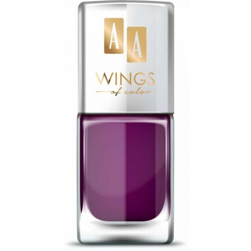 AA WINGS OF COLOR Nail Lacquer Lakier do paznokci 19 Purple Peony 11 ml