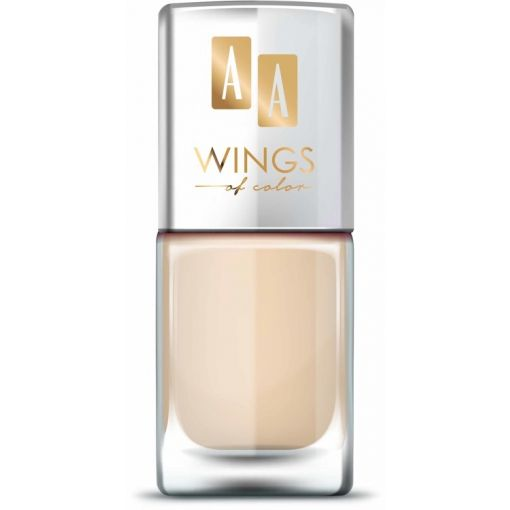 AA WINGS OF COLOR Nail Lacquer Lakier do paznokci 10 Cotton Flower 11 ml