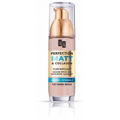 AA Make Up Perfection Matt&Collagen founadtion 107 35 ml