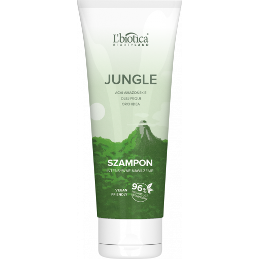 L'BIOTICA Beauty Land Jungle Szampon Acai Amazońskie i Olej Pequi - 200 ml