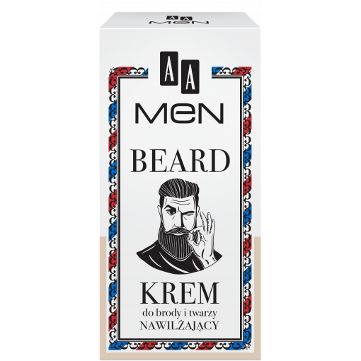 AA MEN BEARD Krem do brody i twarzy 50 ml