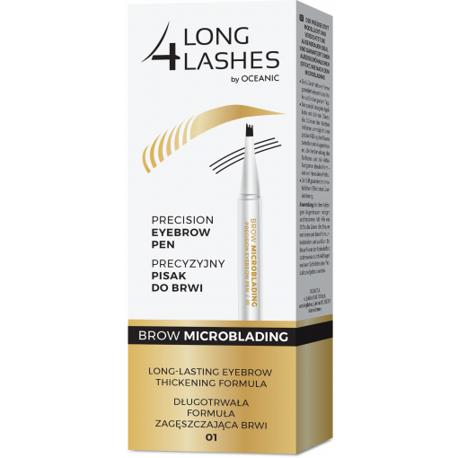 LONG4LASHES BROW MICROBLADING Precyzyjny pisak do do brwi 01 1,1 ml