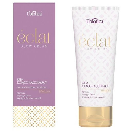 L'BIOTICA Eclat Glow Cream - Krem Kojąco- łagodzący 50 ml
