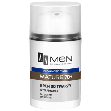 AA MEN ADVANCED CARE MATURE 70+ Krem do twarzy wygładzający 50 ml