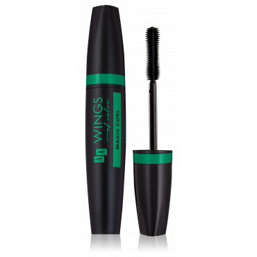 AA WINGS OF COLOR Magic Curl Length And Curve Builder Mascara Black Tusz Do Rzęs 10ml