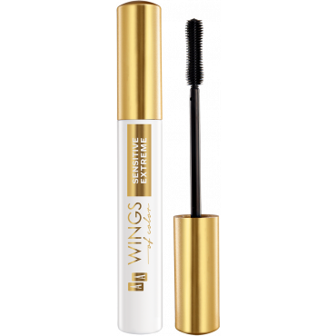 AA WINGS OF COLOR Extreme Sensitive Mascara Maximum Comfort And Long Stay Black Tusz Do Rzęs 8 ml