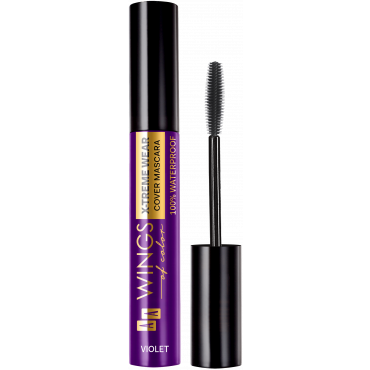 AA WINGS OF COLOR Waterproof Tube Mascara 03 Violet 10ml
