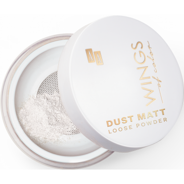 AA WINGS OF COLOR Dust Matt Loose Powder 30 Make Up Fixer 8 g