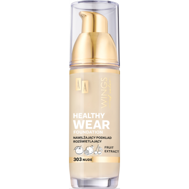AA WINGS OF COLOR Healthy Wear Foundation Podkład Nawilżający 303 Nude 35 ml