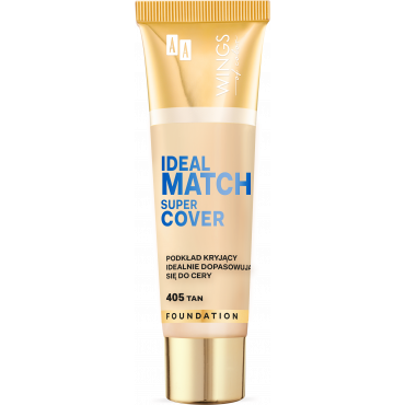AA WINGS OF COLOR Ideal Match super cover 405 Tan 30 ml