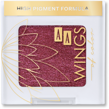 AA WINGS OF COLOR Długotrwały cień do powiek All Day Long Eyeshadow 60 violet rubin 1,6 g