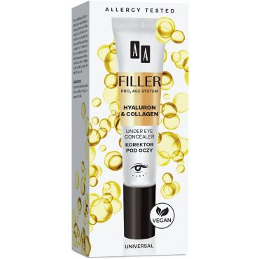 AA FILLER Under Eye Concealer Korektor Pod Oczy, 10 ml