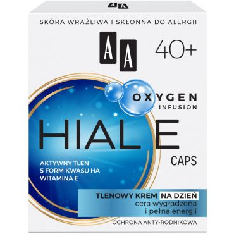 AA OXYGEN INFUSION 40+ hial e caps, tlenowy krem na dzień, cera wygładzona+pełna energii, 50 ml