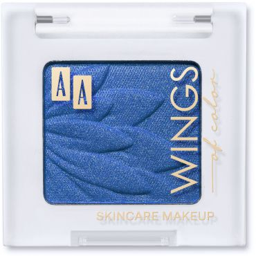 AA WINGS OF COLOR All Day Long Eyeshadow Długotrwały Cień Do Powiek 59 Deep Blue 1,8g
