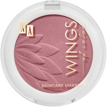 AA WINGS OF COLOR Blush&Rouge Róż Do Policzków 05 Flamingo 4,5 g