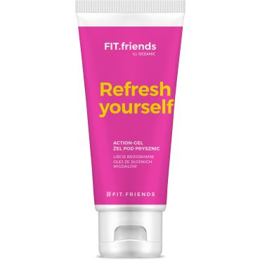 FIT.Friends Action-gel - żel pod prysznic women 200 ml
