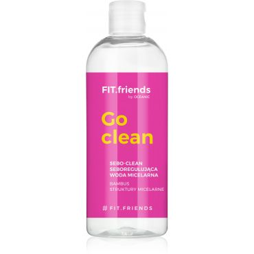 FIT.Friends Mat-clean - woda micelarna seboregulująca 400 ml