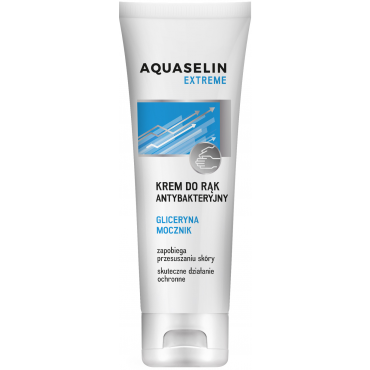 AQUASELIN Extreme krem do rąk antybakteryjny 100 ml