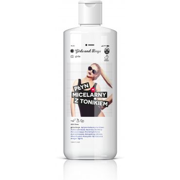 GIRLS AND BOYS Płyn micelarny z tonikiem girls 250 ml
