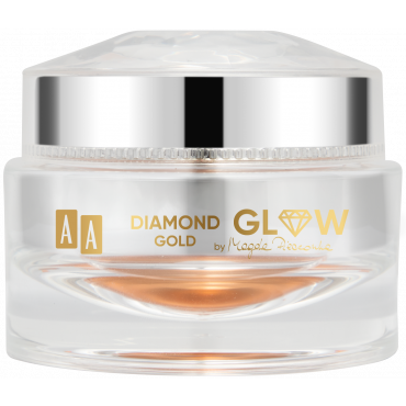 AA Diamond Glow Gold Multi-Use Creamy Highlighter Sweet Beet by Magda Pieczonka
