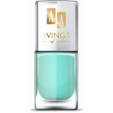 AA WINGS OF COLOR Nail Lacquer Lakier do paznokci 13 Apple Mint 11 ml