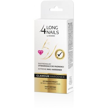 LONG4NAILS Glamour Hardener Ekstremalny utwardzacz do paznokci 10 ml