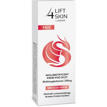 LIFT4SKIN DRAGON BLOOD Krem volumetryczny pod oczy Multiwygładzenie i lifting 30 ml