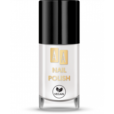 AA NAIL POLISH Lakier Do Paznokci 01 White Bean 8 ml