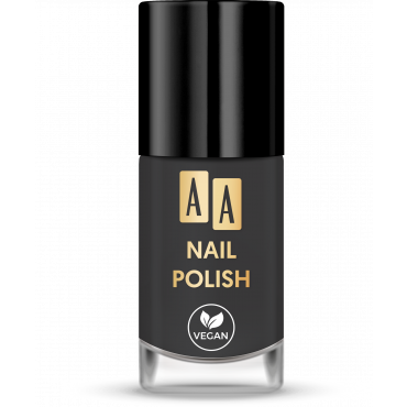 AA NAIL POLISH Lakier Do Paznokci 07 Black Pepper 8 ml