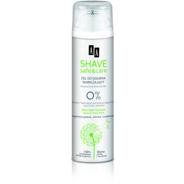 AA Shave Safe & Care Żel do golenia 200 ml