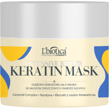 L'BIOTICA Professional Therapy Intensive Repair Keratin Mask- 200 ml