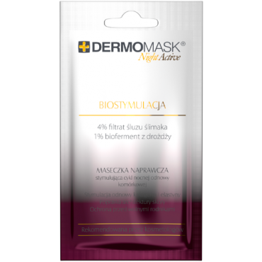 L'BIOTICA Dermomask Night Active Biostymulacja - 12 ml