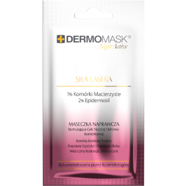 Dermomask Night Active Siła Lasera - 12 ml