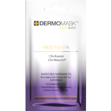 L'BIOTICA Dermomask Night Active Mezoterapia - 12 ml